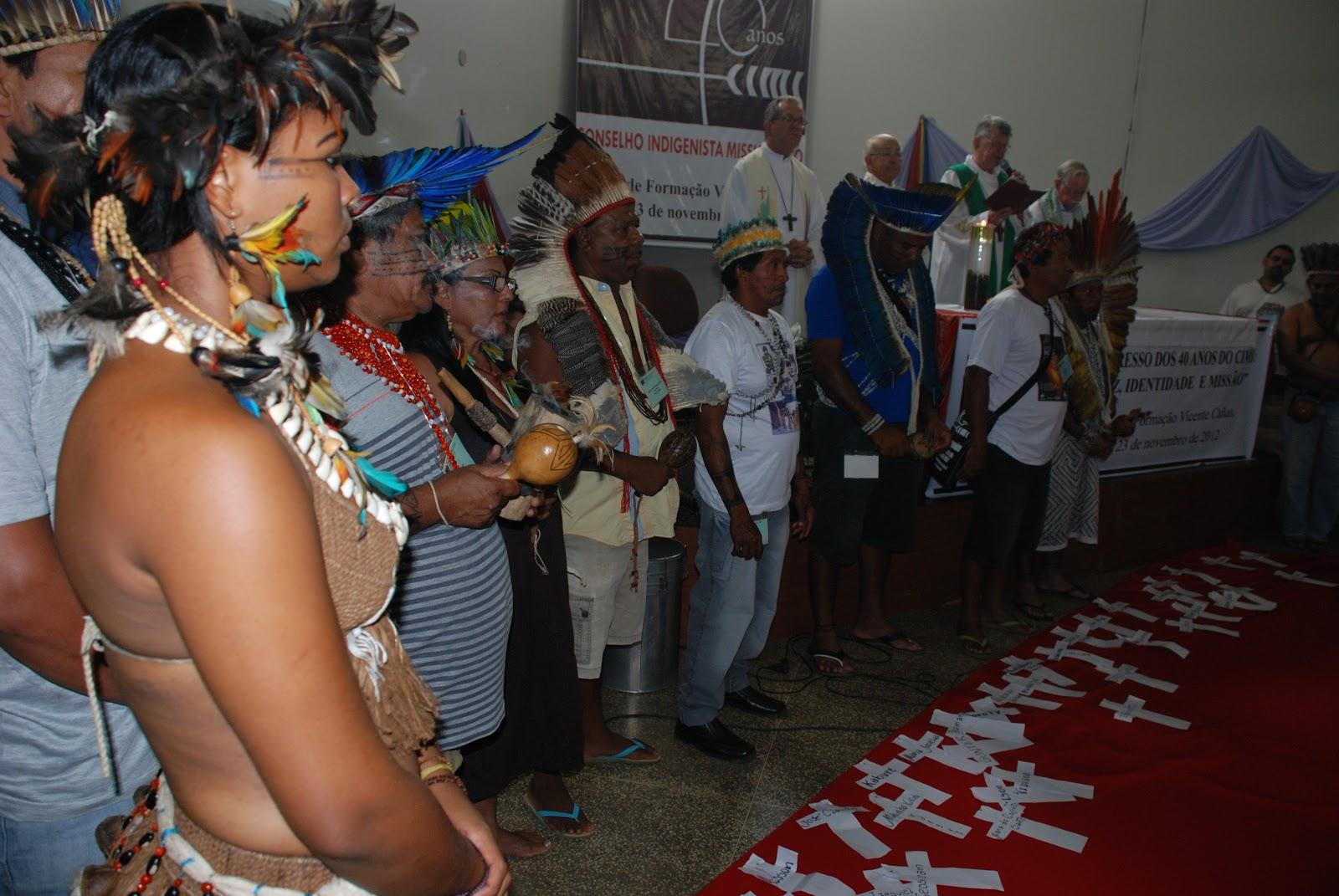 Conselho Indigenista Missionário comemora 40 anos com Congresso em Luziânia