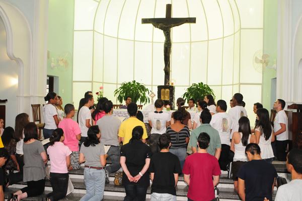 Setor Juventude da Arquidiocese de São Paulo realiza retiro com tema da JMJ 2011