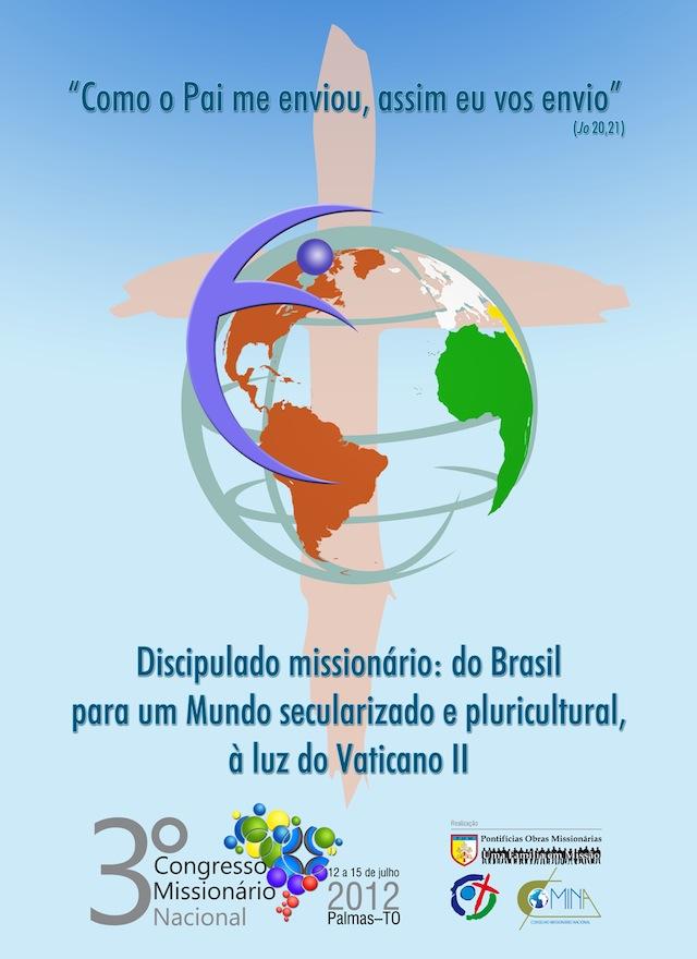 Lançados os materiais do 3º Congresso Missionário Nacional