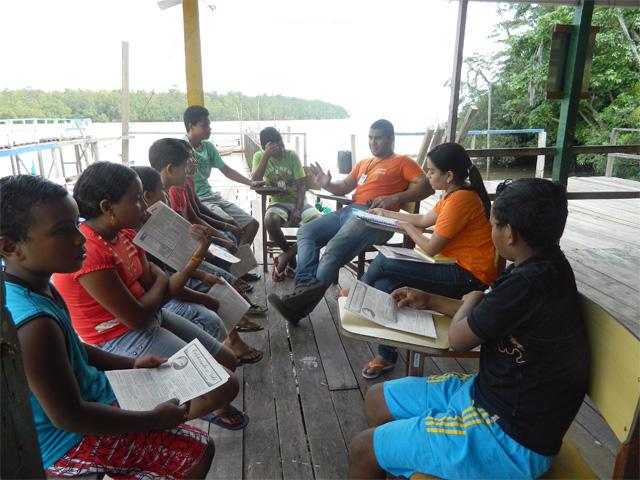 Jovens levam o Evangelho e dignidade a comunidades ribeirinhas do Pará