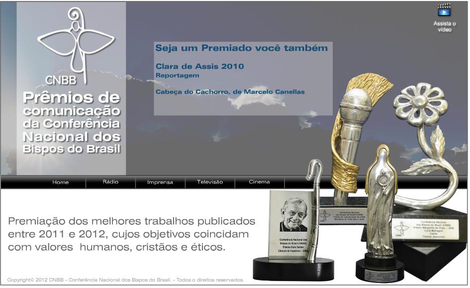 Inscrições abertas para os Prêmios de Comunicação da CNBB