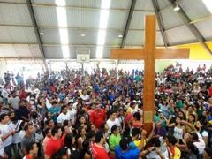 Diocese de Almenara celebra DNJ com símbolos da Jornada Mundial da Juventude