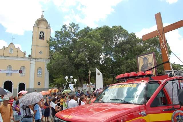 Veja como foi a peregrinação da Cruz na Diocese de Estância, no sertão sergipano