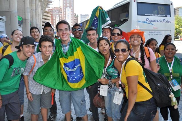 Festa com sotaque brasileiro