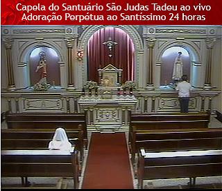 Primeira Capela de Adoração Perpétua online do Brasil