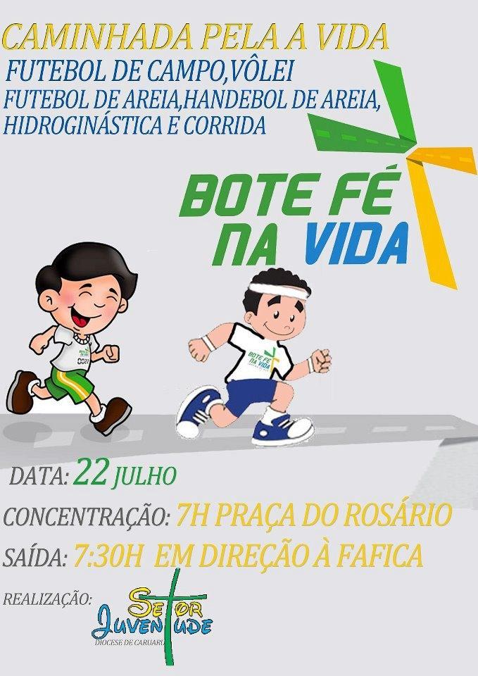 Diocese de Caruaru (PE) prepara-se para Bote Fé na Vida