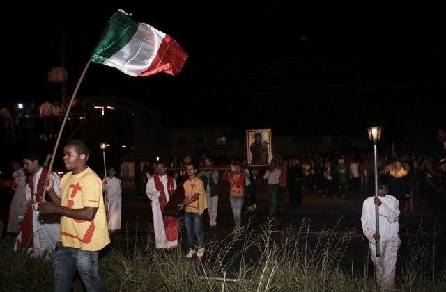 Bote Fé: Símbolos da JMJ são acolhidos na Arquidiocese de Cuiabá