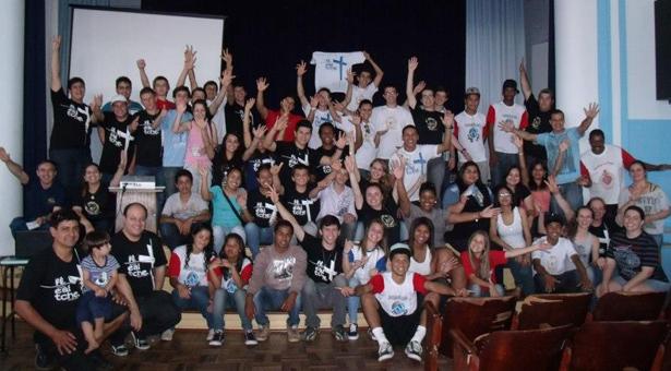 Diocese de Cachoeira do Sul realiza DNJ sobre a Cruz Peregrina
