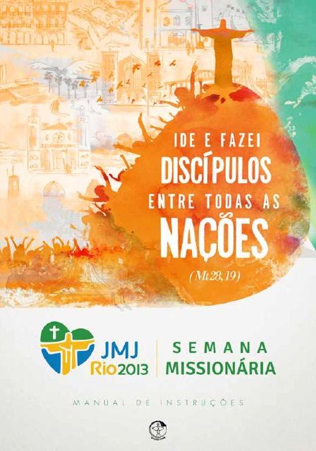 Dioceses já podem fazer download de manual de instruções para Semana Missionária