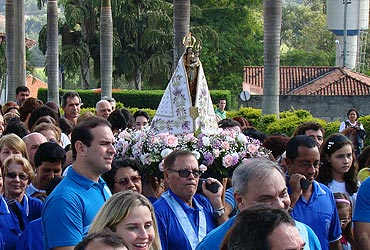 Círio de Nazaré visita a Canção Nova