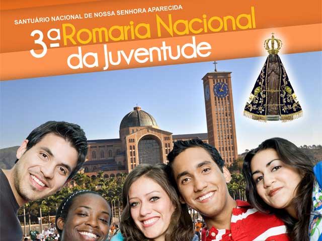 Santuário acolhe Cruz dos Jovens e o ícone de Nossa Senhora na 3ª Romaria da Juventude