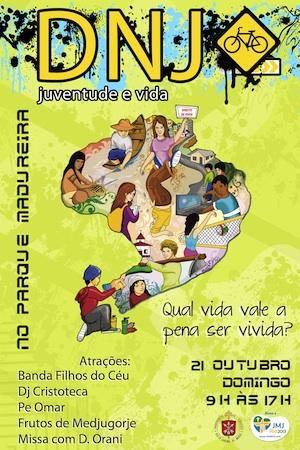 Rio de Janeiro celebra DNJ neste domingo