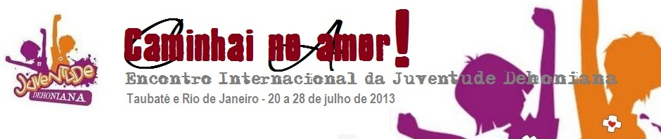 Juventude Dehoniana se prepara para a JMJ Rio 2013