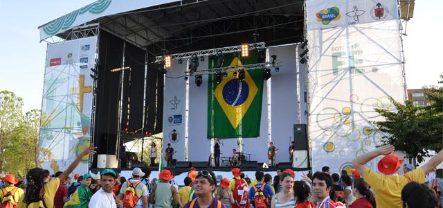 Festival da Juventude: um pedaço do Brasil na Espanha