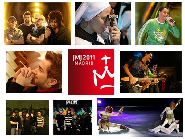 Brasil vai levar louvor, rock e axé para a JMJ Madri