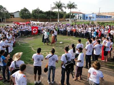 Dia de festa para os jovens da Diocese de Juína (MT)