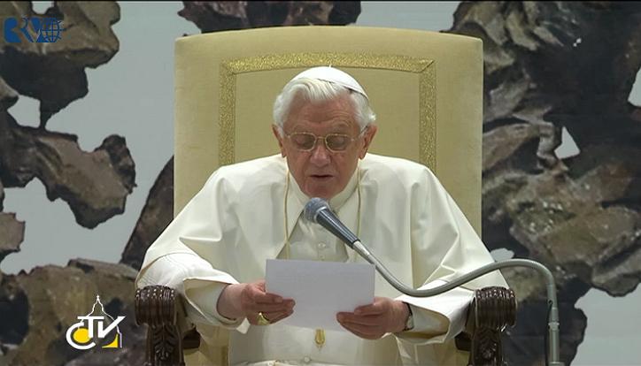 Papa fala sobre a oração de Jesus no Getsêmani