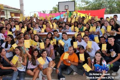 Mais de mil jovens participaram do DNJ em Sobral (CE)