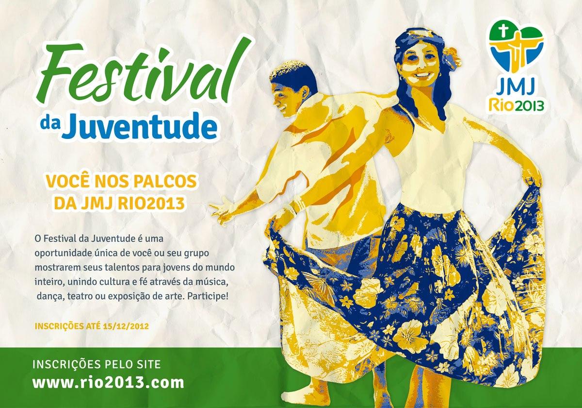 Vão até dia 15 as inscrições para o Festival da Juventude