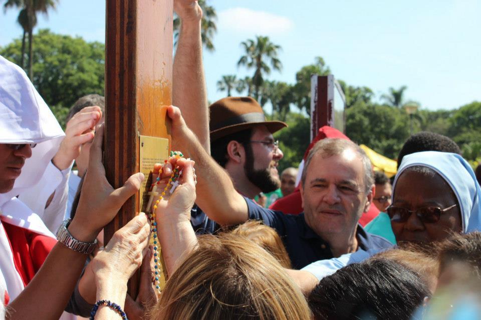 Símbolos da JMJ voltam à Arquidiocese de Porto Alegre