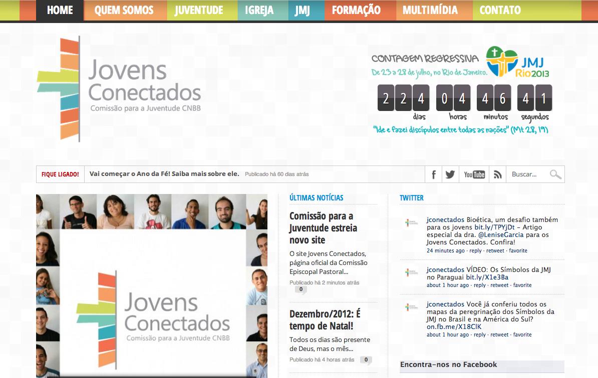 Comissão para a Juventude estreia novo site