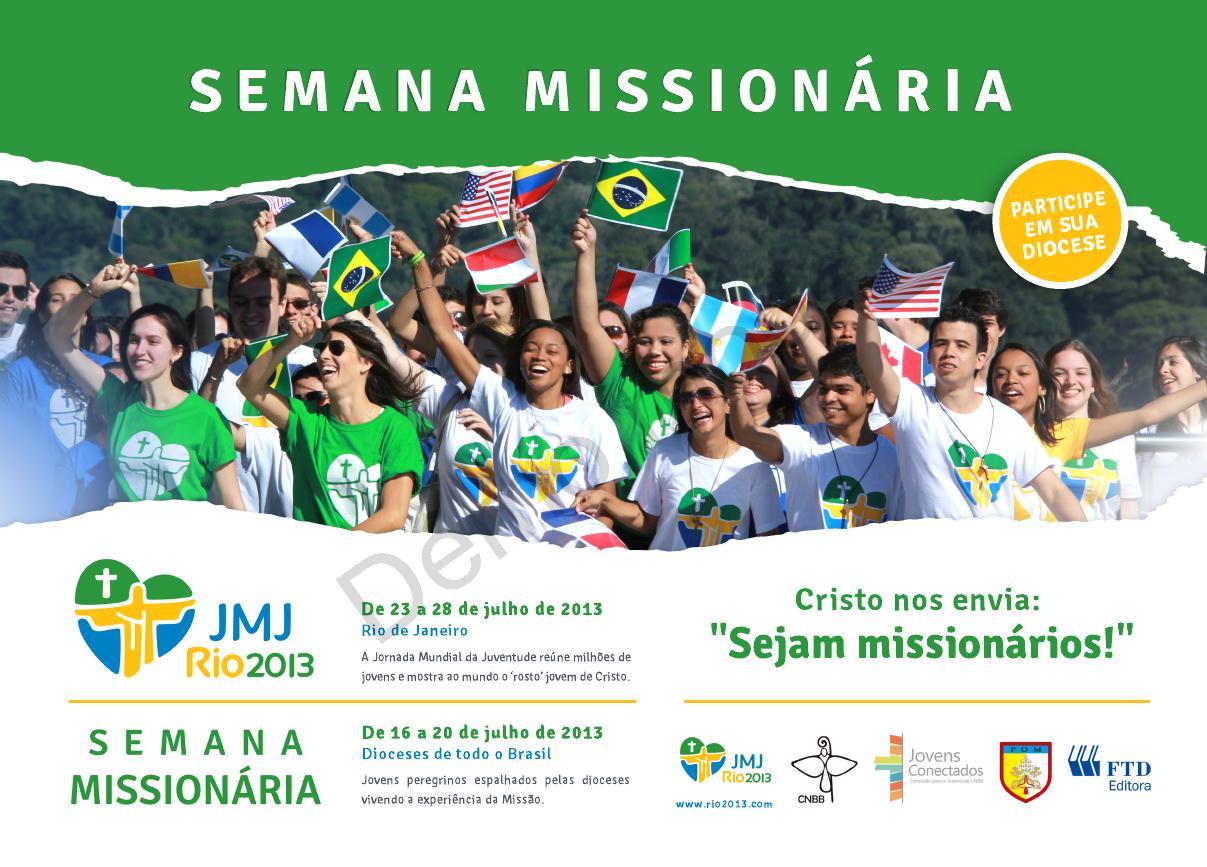 Animação para a Semana Missionária acontece em todo Brasil