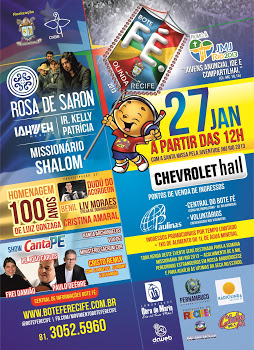Grande festa vai marcar um ano do Bote Fé Recife