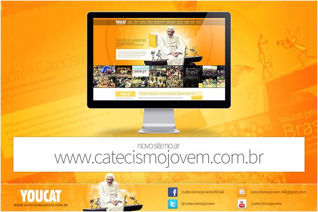 Catecismo Jovem lança site
