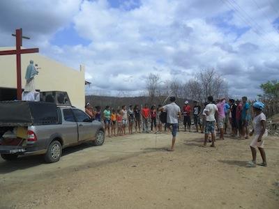 Jovens de Iguatu (CE), olhos fixos em Jesus, ide e anunciai!