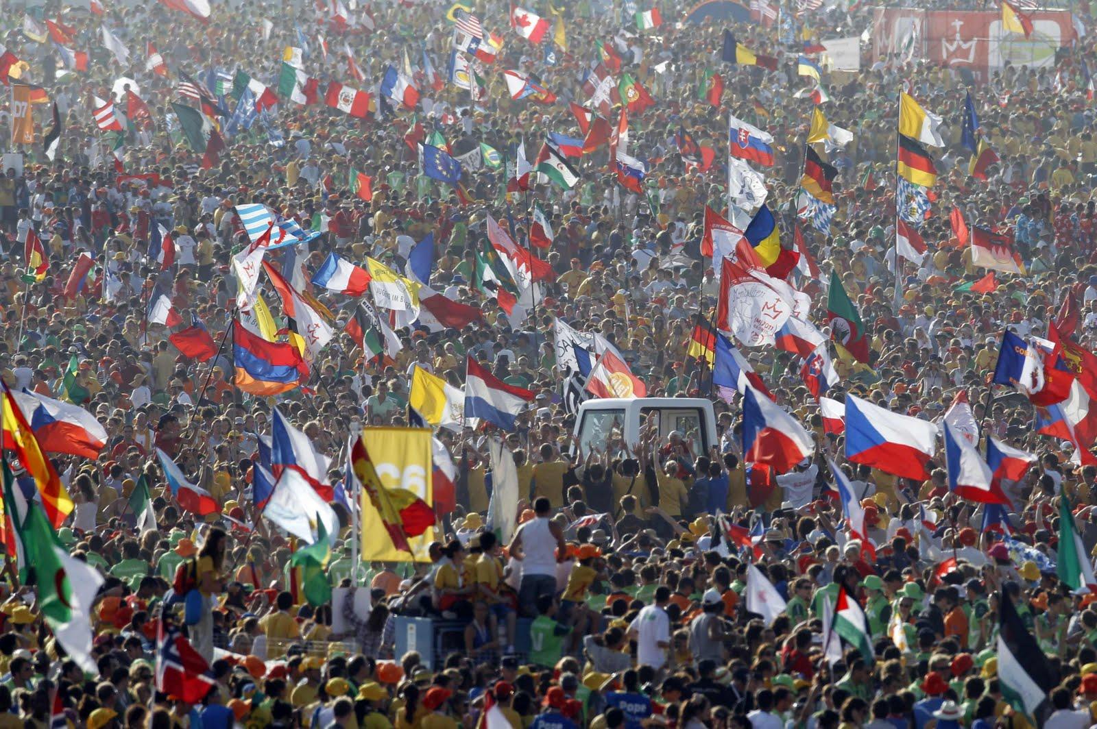 Há 1,2 bilhão de católicos no mundo