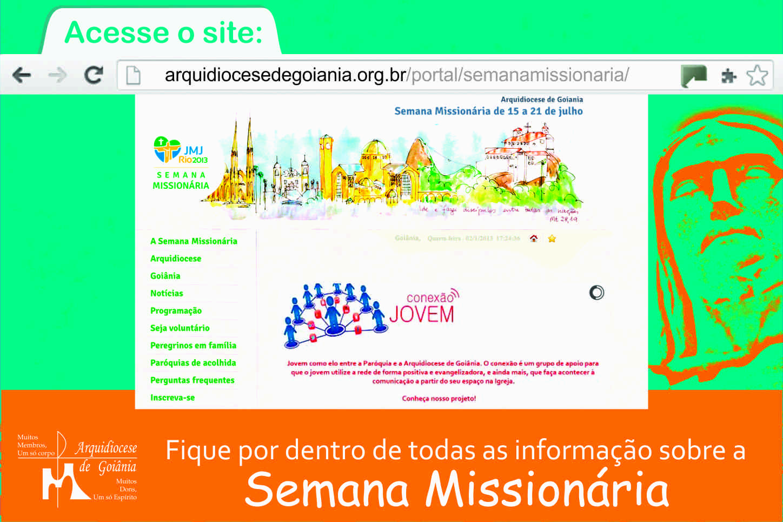 Goiânia lança site da Semana Missionária