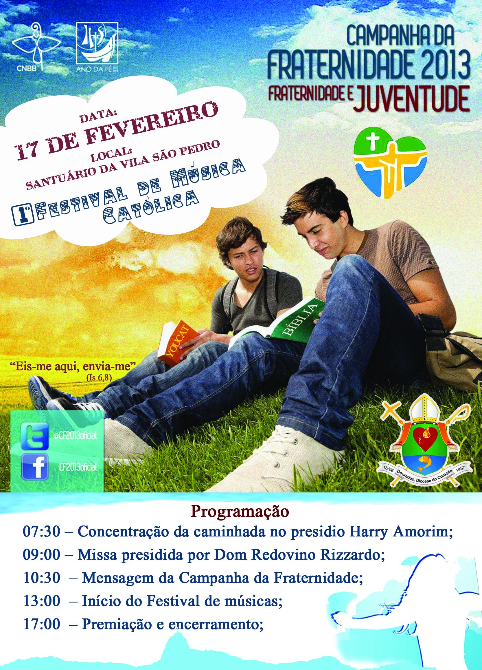 Abertura da CF 2013 em Dourados (MS) terá Festival da Juventude