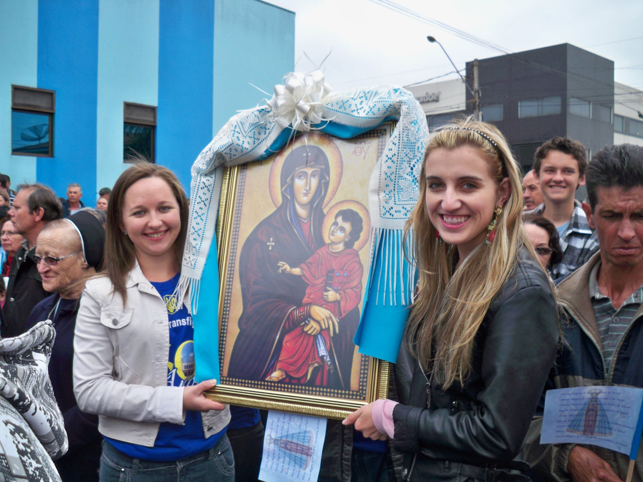 Eparquia Ucraniana se prepara para acolher os Símbolos da Jornada Mundial da Juventude
