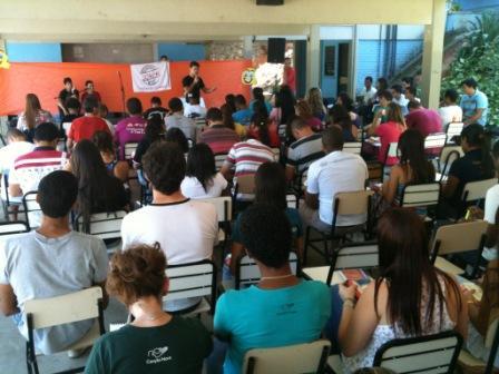 Encontro Estadual de Lideranças da RCC, em Santa Luzia (MG)