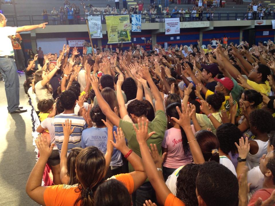 Juventude carismática no Carnaval do Maranhão