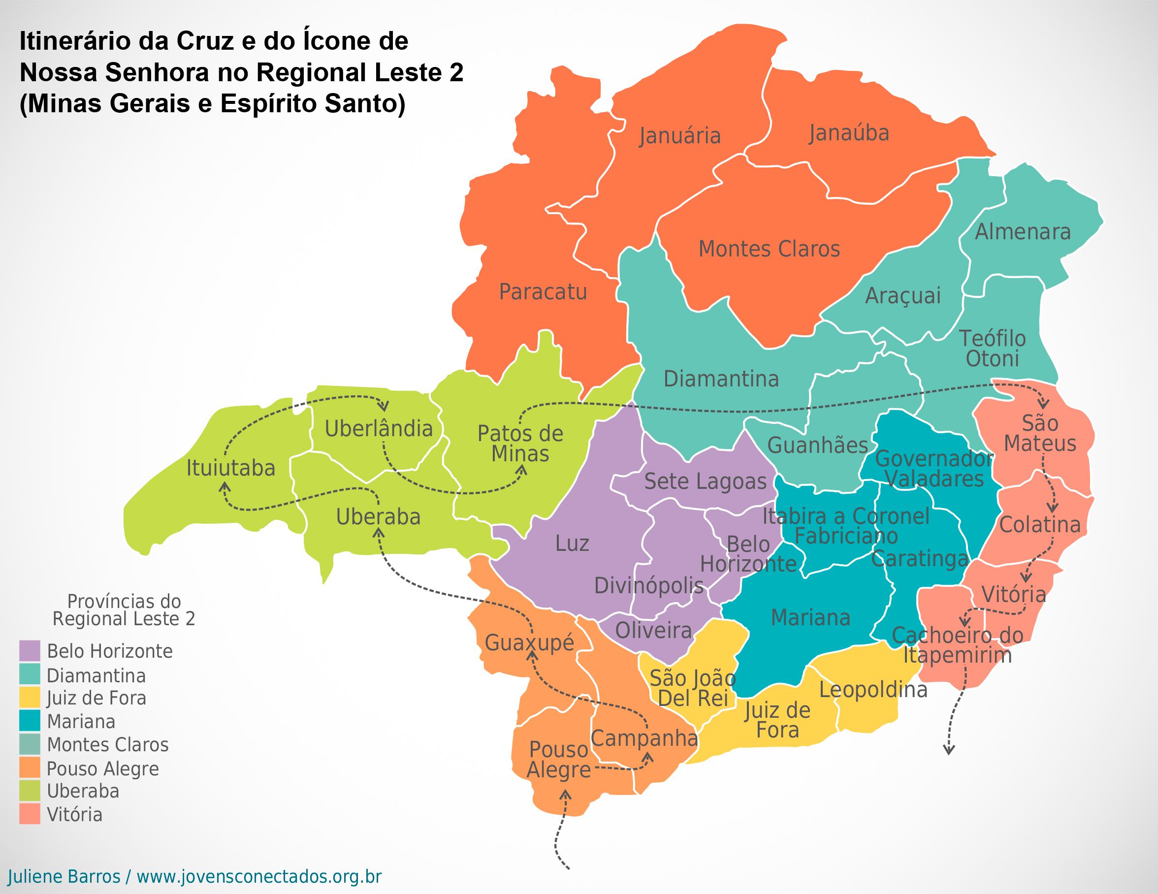 Marca Del Mapa Símbolo De Ios 7: Símbolos Da Jornada Mundial Da Juventude Retornam