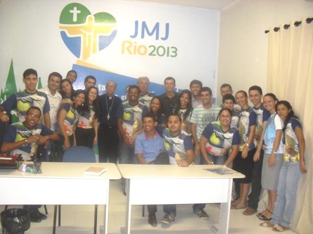 Clima de JMJ toma conta da Diocese de Petrolina