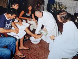 Na Quinta-Feira Santa, Papa Francisco lavará os pés de jovens infratores