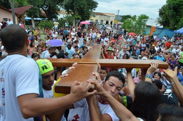 Um ano depois, jovens recordam peregrinação dos símbolos da JMJ na Diocese de Picos