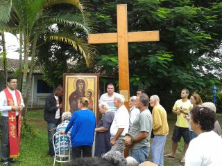 Caraguatatuba vive a presença dos Símbolos da JMJ na diocese