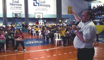 Mais de 400 jovens participam de evento do Setor Juventude de Belém