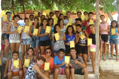 Juventude de Iguatu (CE) conectada com a JMJ 2013