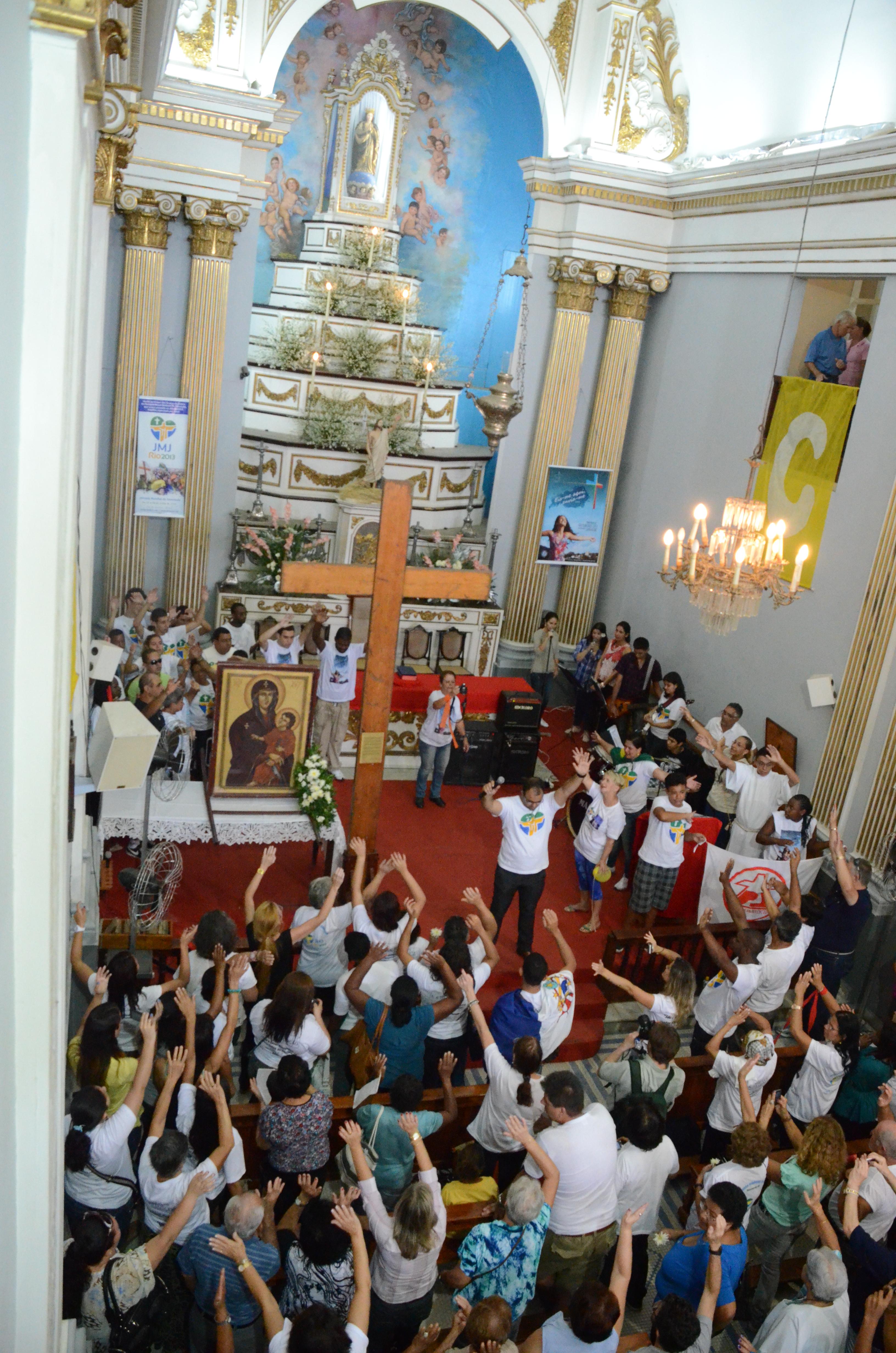 Diocese de Valença recebe os Símbolos da Jornada Mundial da Juventude
