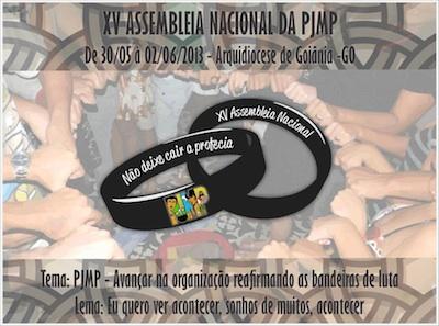 Pastoral da Juventude do Meio Popular realiza XV Assembleia Nacional