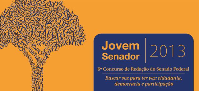 Projeto Jovem Senador tem inscrições abertas para a edição 2013