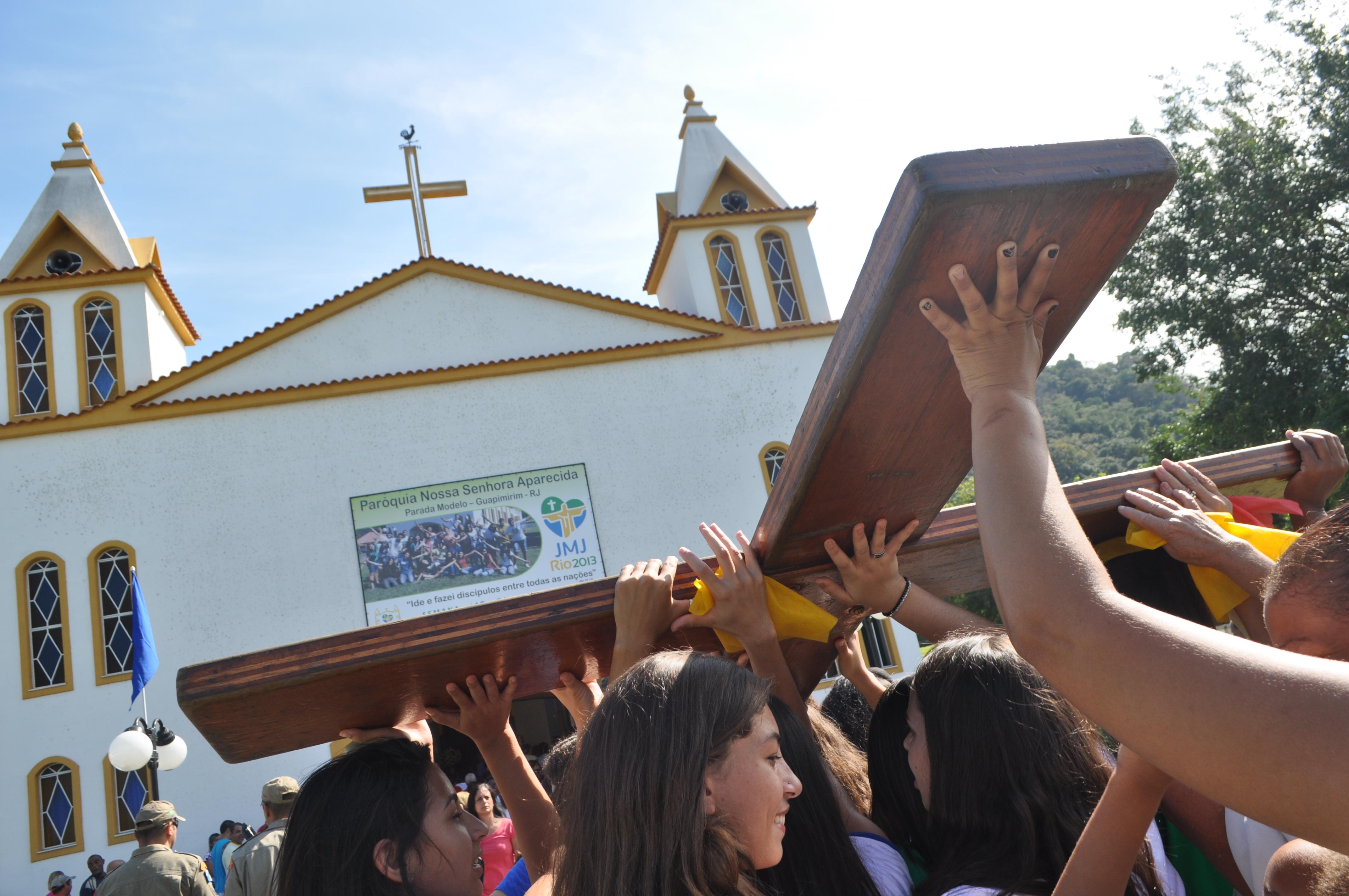 Símbolos da JMJ chegam em Teresópolis