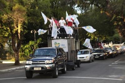 Carreatas marcaram 30 dias para a JMJ RIO 2013