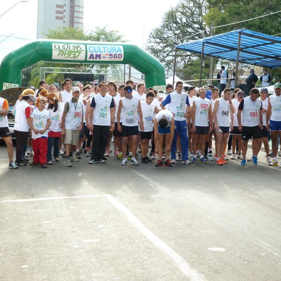 Corrida em Guarapuava (PR) a 30 dias da JMJ