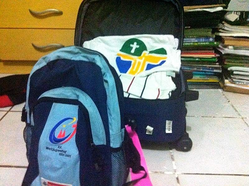 Fazendo as malas para a JMJ Rio2013: veja dicas sobre o que levar