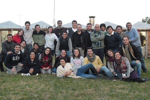 Os jovens uruguaios se preparam para a JMJ